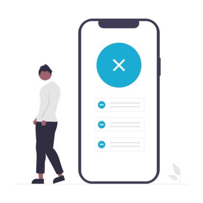 Отсутствие аватарки/личной информации